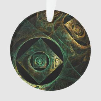 魔法の振動抽象美術のアクリルの円 オーナメント