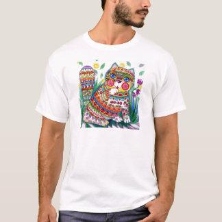 魔法の春猫 Tシャツ