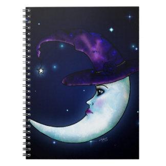 魔法の月 ノートブック