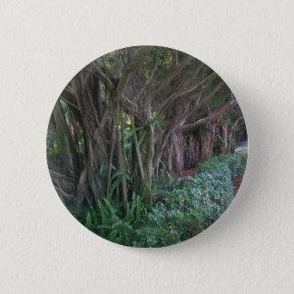 魔法の森林プリント・ボタン 5.7CM 丸型バッジ