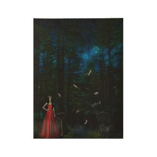 魔法の森 ウッドポスター