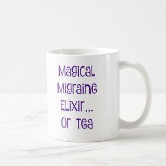 魔法の片頭痛のエリクシル…. 茶 コーヒーマグカップ