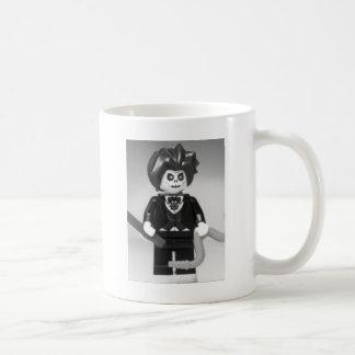 魔法の細い棒とのカスタムなMinifigure邪悪な手品師 コーヒーマグカップ