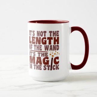 魔法の細い棒のマグ-スタイル及び色を選んで下さい マグカップ