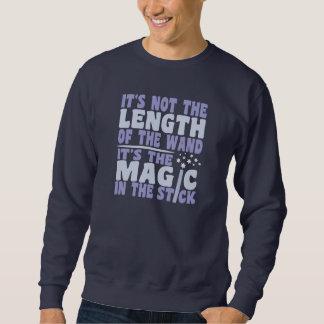 魔法の細い棒のワイシャツ-スタイル及び色を選んで下さい スウェットシャツ