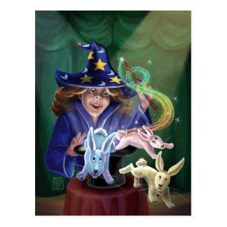 魔法の行為 ポストカード