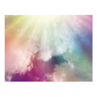 魔法の雲 はがき
