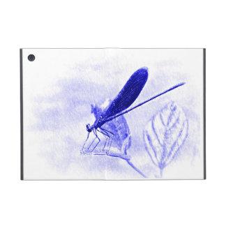魔法の青いトンボ iPad MINI ケース