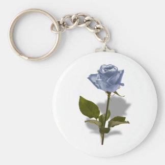 魔法の青のバラ キーホルダー