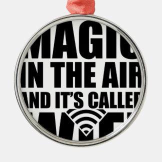 魔法のwifi メタルオーナメント