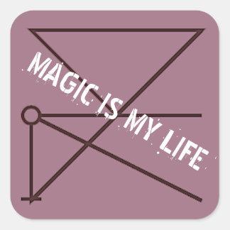 魔法は私の生命です スクエアシール