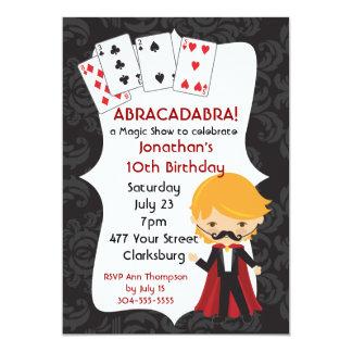 魔法ショー カード