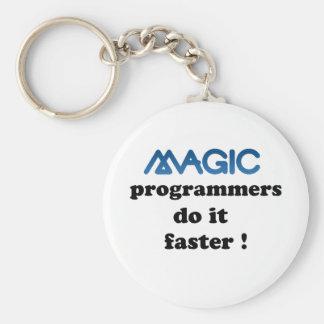 魔法プログラマーはそれをより速くします キーホルダー