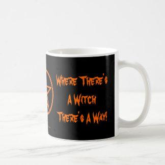 魔法使いがある一方、方法があります! ウィッカ信者のマグ コーヒーマグカップ
