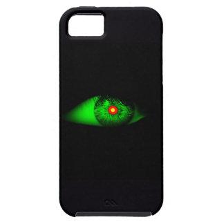 魔法使いのカッコいいのハロウィンのデザインの目 iPhone SE/5/5s ケース