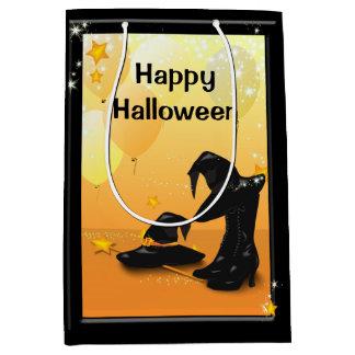 魔法使いのハロウィンの魅惑的な魔法使いのパーティーMGB ミディアムペーパーバッグ