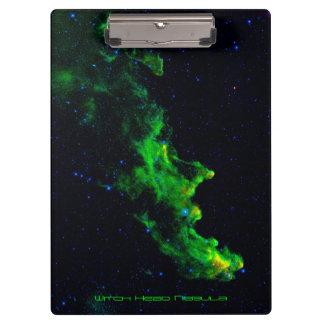 魔法使いのヘッド星雲の深宇宙の天文学のイメージ クリップボード
