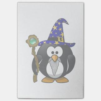 魔法使いのペンギンの漫画 ポストイット
