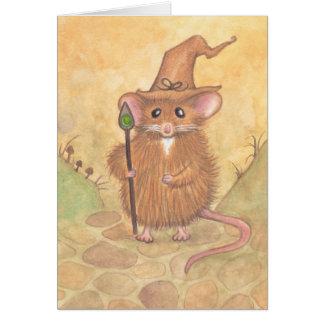 魔法使いのマウス カード