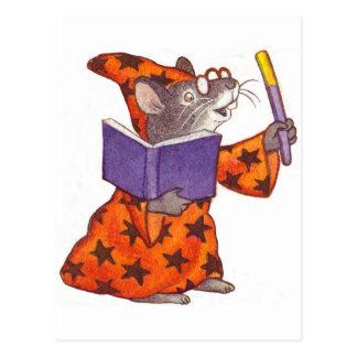 魔法使いのマウス ポストカード