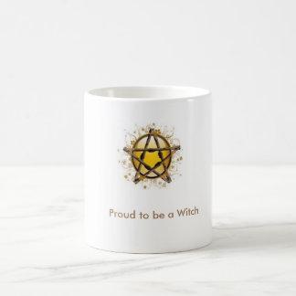 魔法使いのマグがあること誇りを持った コーヒーマグカップ