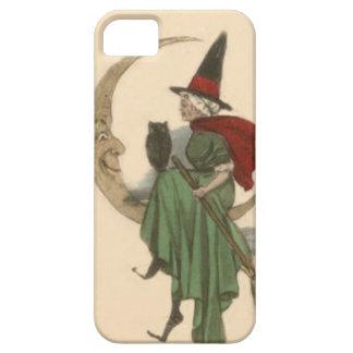 魔法使いの三日月形の月のフクロウ iPhone SE/5/5s ケース