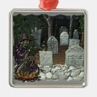 魔法使いの墓地のオーナメント メタルオーナメント