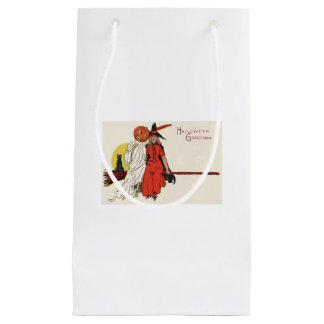 魔法使いの幽霊のジャックOのランタンの骨組 スモールペーパーバッグ