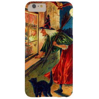 魔法使いの監視子供のフクロウの黒猫 BARELY THERE iPhone 6 PLUS ケース