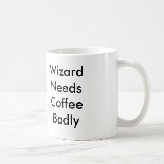 魔法使いはコーヒーをひどく必要とします コーヒーマグカップ