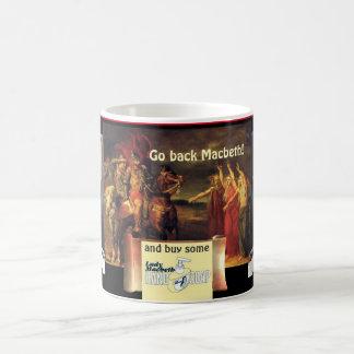 魔法使いは悩み及び争いのスコットランドのプレーボーイを警告します コーヒーマグカップ