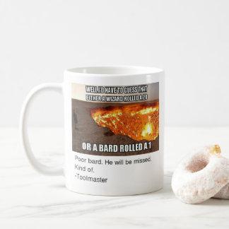 魔法使いまたは楽師のマグ コーヒーマグカップ