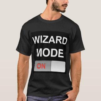 魔法使いモード: 暗い版-倍はTシャツ味方しました Tシャツ