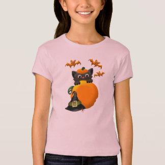 魔法使い生意気な猫 Tシャツ