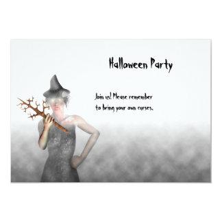 魔法使い-ハローウィンパーティの招待状 カード