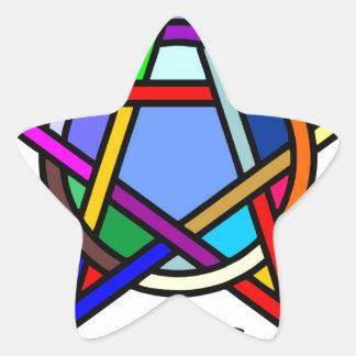 魔法使い 星シール