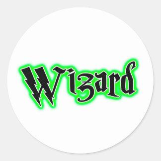 魔法使い-魔法、魔法使い、Wiccaのユーモア ラウンドシール