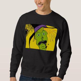 魔法使いnのくものハロウィンのワイシャツのティー スウェットシャツ