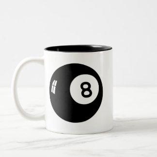 魔法8の球 ツートーンマグカップ