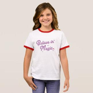 魔法 リンガーTシャツ