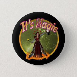 魔法 缶バッジ
