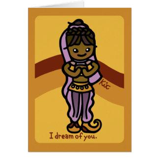 魔神の挨拶 カード