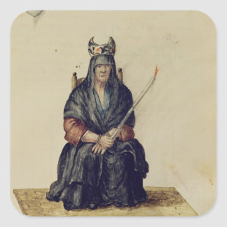 魔術師の罰 スクエアシール