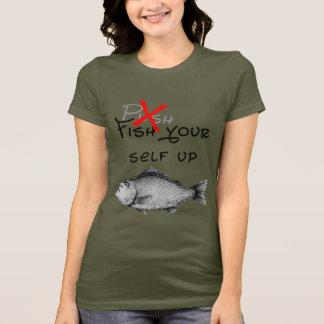 魚あなた自身 Tシャツ