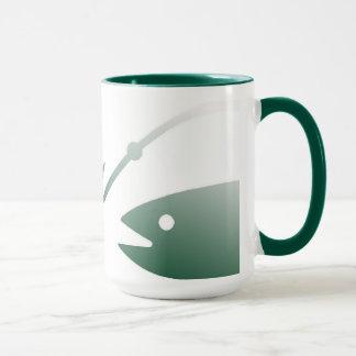 魚およびホックのコーヒー・マグ マグカップ