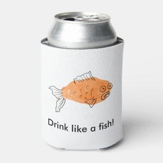 魚のような飲み物! 缶クーラー