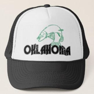 魚のオクラホマのヴィンテージのロゴ キャップ