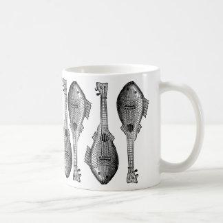 魚のギター コーヒーマグカップ