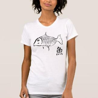 魚のティー Tシャツ