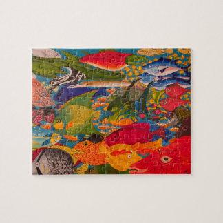 魚のパズル ジグソーパズル